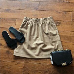 🍁 JCREW wool blend sidewalk skirt
